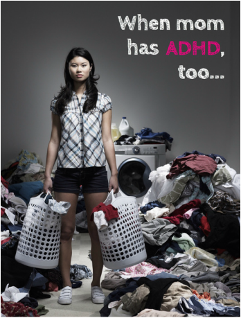 What do you do when you're the parent with ADHD?