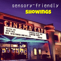 Sensory Friendly Showings in Virginia Beach at Cinema Cafe by Nikki Schwartz @ Spectrum Psychological
